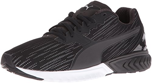 PUMA Women's Ignite Dual Nightcat Wn's Running Shoe, Puma Black, 8 M US
