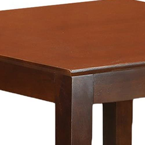 home, kitchen, furniture, kitchen, dining room furniture,  tables 10 discount East West Furniture OXT-MAH-T Oxford Wooden in USA