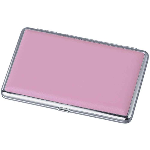 Visol Products Leather Double Sided Cigarette Case, Candy Pink