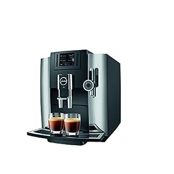 Image of Home and Kitchen Jura 15097 E8 Espresso Coffee Machine, 28 cm x 35 cm x 35.1 cm, Chrome