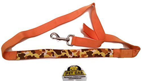 LED Dog Leashes Camo Camouflage Pet Print 4 Feet orange Pink Green bluee 3 Modes Slow Fast Flashing Steady Lights Night Walking Safety Safely See Dark Traffic Battery Replace Flexible Washable