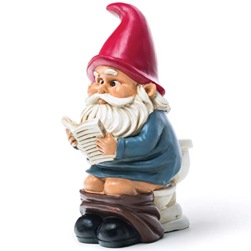 Big Mouth Toys Gnome on a Throne
