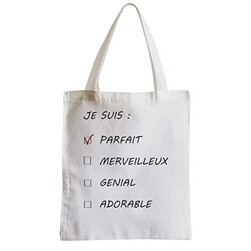 Etudiant À Je Parfait Suis Homme Sac Shopping Grand Fabulous Cocher Plage Cases qfUYIgwwz