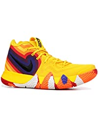 a3f53244323 Kyrie 4 Decades Pack 70s 943806-700 Amarillo/Black Men's Basketball Shoes  (10.5 · Nike