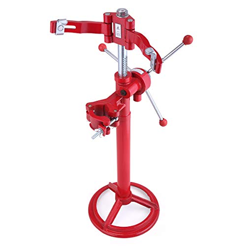 LAZYMOON Strut Coil Spring Press Compressor Hand Operated Auto Equipment Compress Red
