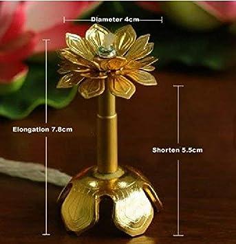 shihualine cumpleaños luz de la vela soporte retráctil de ...