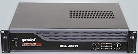 gemini dj XGA-4000 4000-Watt Power Amplifier