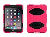 ipad mini griffin case - Griffin iPad mini 1/2/3 Rugged Case Survivor All-Terrain Case plus Stand - Military-duty case with stand-Touch ID Compatible