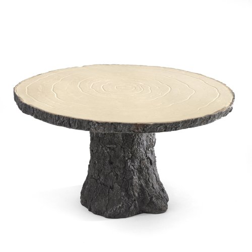 Rustic Log Cake Stand