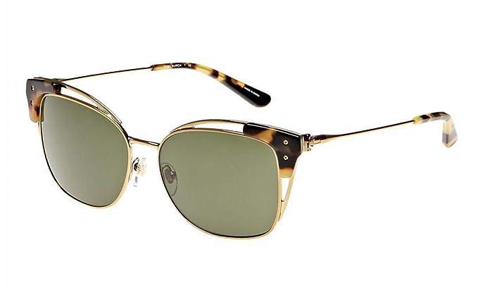 8c4652557837 Amazon.com: Tory Burch Women's 0TY6049 Gold/Tokyo Tortoise/Green ...