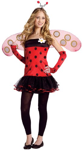Teen Lovely Ladybug Costume - Juniors up to size 9
