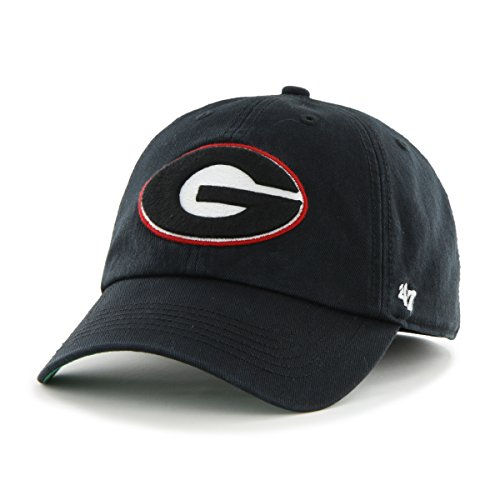 NCAA Georgia Bulldogs Franchise Fitted Hat, Black, X-Large (Georgia Bulldog Hats Fitted Men compare prices)