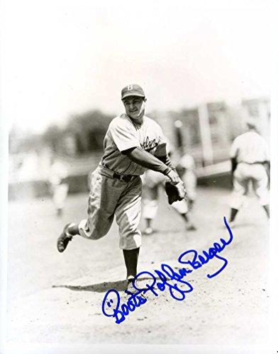 "Cletus ""Boots"" Poffenberger (D.) Autographed /Original Signed 8x10 Photo (1930s Detroit Tigers/ Brooklyn Dodgers)"
