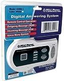 Northwestern Bell Digital Answering Machine 13MIN WHITE