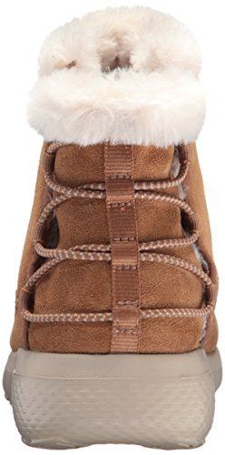 2 Winter Boot City go Chestnut Women's The Hibernate On Skechers 0XxqPFwUP