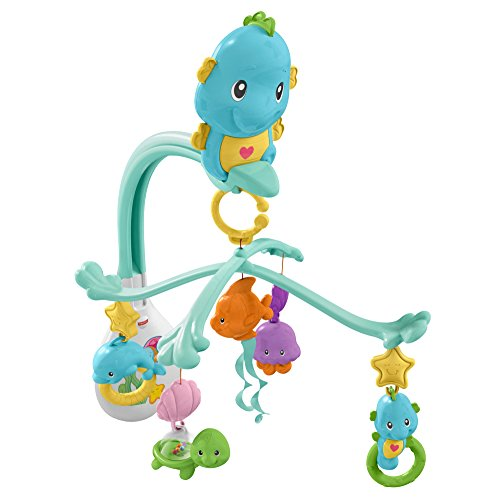 Fisher-Price 3-in-1 Soothe & Play Seahorse Mobile from Fisher-Price