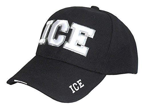 SunGal I.C.E Immigration & Customs Enforcement Officer Gear, 3D Embroidered Baseball Cap Hat