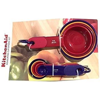 Amazon.com: Kitchenaid Classic Plastic Measuring Cups and