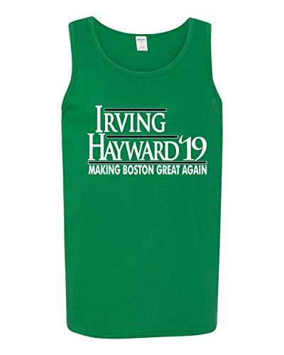 Green Boston Hayward Making Boston Great Again Tank Top Adult