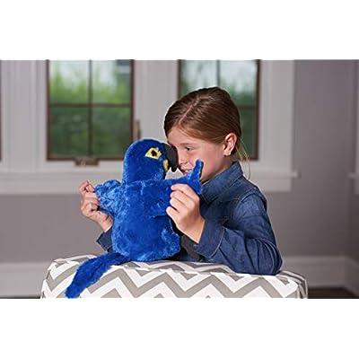 Wild Republic Hyacinth Macaw Plush, Stuffed Animal, Plush Toy, Gifts for Kids, Cuddlekins 12 Inches: Toys & Games