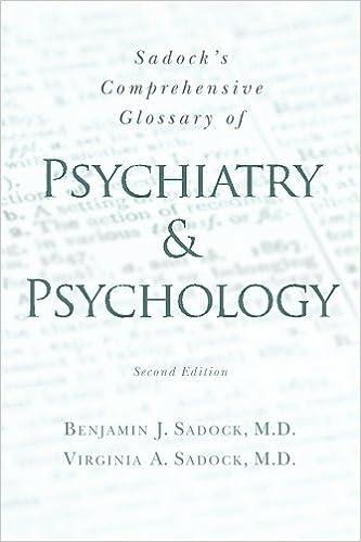 Psychology and psychiatry?