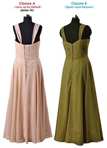 DaisyFormals Dresses Chiffon champagne Evening BM313 Long 50 Sweetheart Bridesmaid Dress Womens rSw7qpr