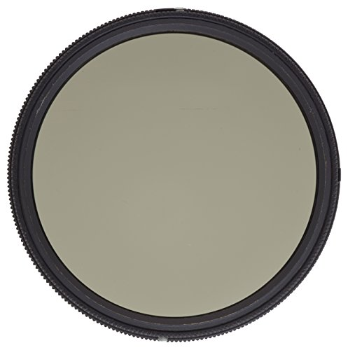 Heliopan 55mm Variable Gray Neutral Density Filter (705590) with specialty Schott glass in floating brass ring