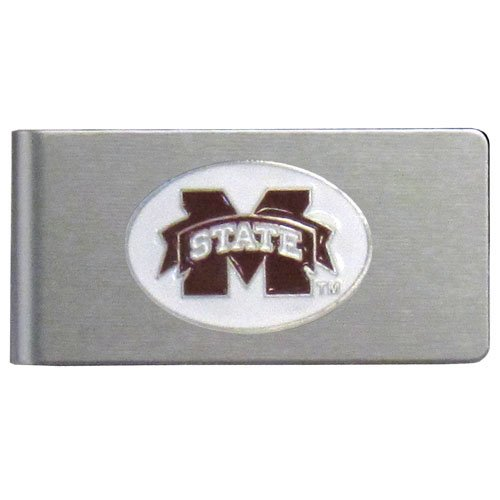 NCAA Mississippi State Bulldogs Brushed Money Clip