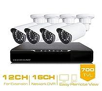GOWE 16CH CCTV System HDMI DVR 4PCS CCTV Cameras 700TVL IR Weatherproof Security Camera Home Security System Surveillance Kits