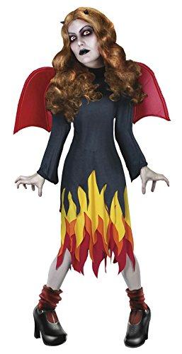 Devil Doll Costume (Living Dead Dolls Inferno Costume - Womens Small)