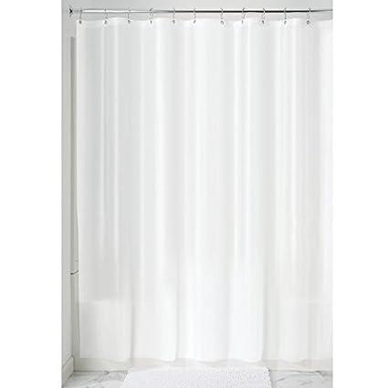InterDesign Mildew-Free EVA 5.5 Gauge Shower Curtain Liner, 72\