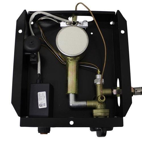 AZ Patio Heaters SGT-Burner 3BOLT 3 Bolt Hole Pattern Burner for Square Glass Tube Patio Heater