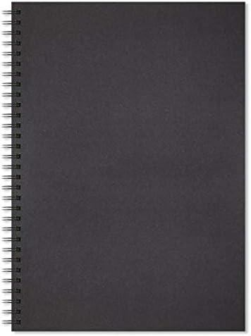 Artway Enviro Spiral Bound Black Card Sketchbooks 270gsm