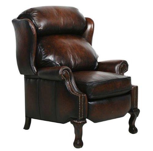 Danbury ll Stetson Coffee Leather Recliner