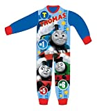 Onsies Kids with Paw Patrol Marshalls Chase Skye Rubble Toy Story Woody Buzz Lightyear Hulk Avengers Thomas Tank Engine Fluffy Onesie for Boys and Girls Kid 2-8 Years (18-24 Months, Thomas & Friends)