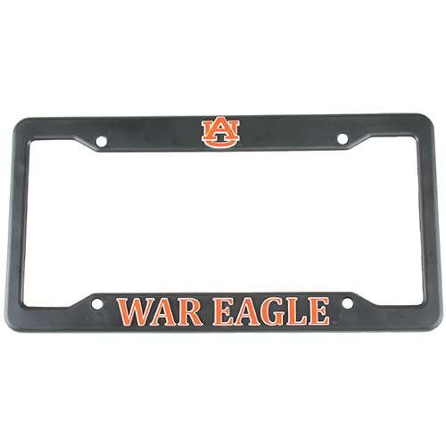 Auburn Logo Plate Tigers License - Logo Products Auburn Tigers Plastic License Plate Frame