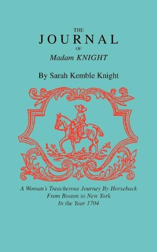 Journal of Madam Knight by Sarah Knight (1992-02-01)