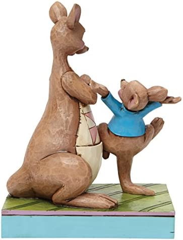 Jim Shore for Enesco Disney Traditions Kanga and Roo Figurine, 5.63