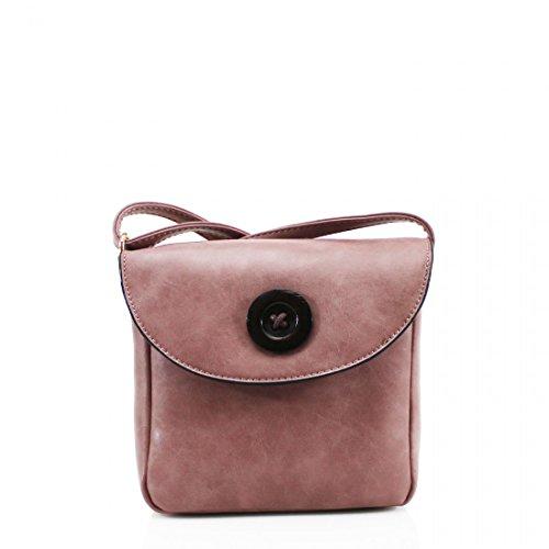 YourDezire - Bolso de tela para mujer rosa