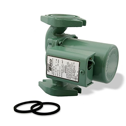Taco 008-VDTF6-1 Variable Speed Delta-T Cast Iron Circulator Pump ()