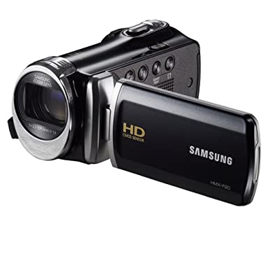 Samsung F90 Black Camcorder with 2.7  LCD Screen and HD Video Recording (Discontinued by Manufacturer)