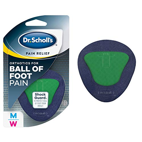 Dr. Scholl's BALL OF FOOT Pain Relief Orthotics (One Size) // With ShockGuard Technology to Protect The Ball of Foot from Impact