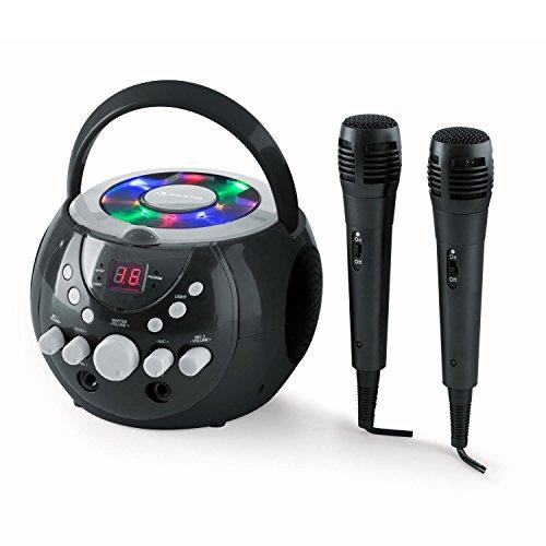 auna SingSing • Children's karaoke machine • Karaoke player • 2 x...