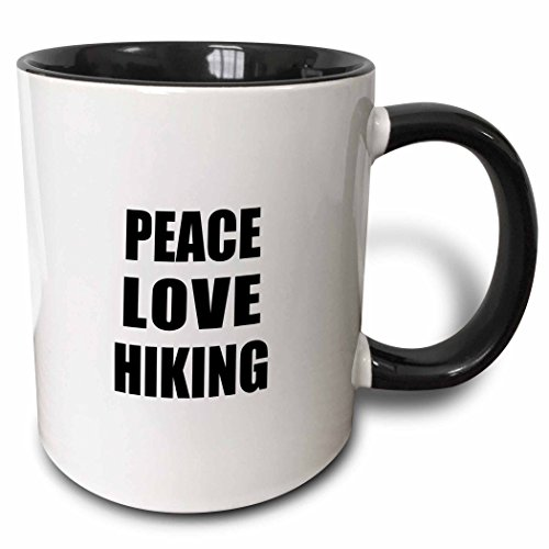Peace Love Hiking Mug made our list of Gifts For Active Women, Gifts For Women Who Hike, Gifts For Women Who Fish, Gifts For Women Who Camp