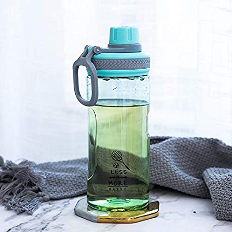 LLDSP 500 ml Botella de Agua de plástico portátil a Prueba de ...