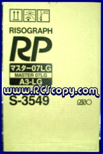 Genuine Risograph FR3910/3950/ RP3100/3105/3500/3590 Masters (2) Per Box S3549 320mm X 103mm Rolls