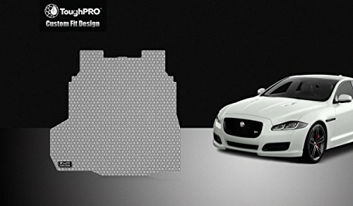 ToughPRO Jaguar XF Trunk Mat - All Weather - Heavy Duty - Gray Rubber - (2009-2018) by ToughPRO