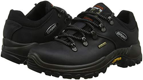 Randonne Chaussures Grisport Pour Hommes Noir Dartmoor De 8ara5