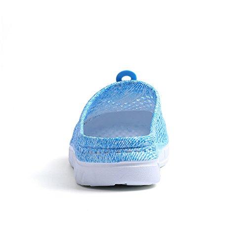 para V Deportivas Sandalias Do Material Azul de Sintético Mujer OSOYqw