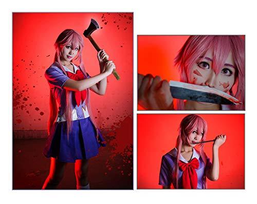 Vokaer Anime Future Diary Gasai Yuno Cosplay Traje de Marinero ...
